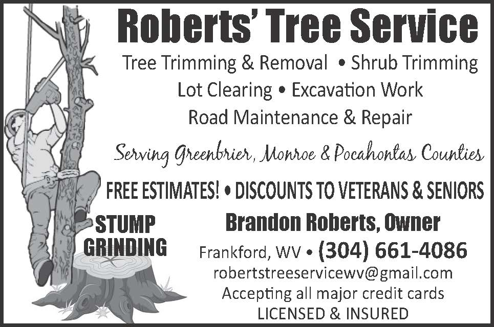 Roberts' Tree Service 2x2