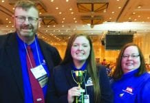Pepper McCormick Places 3rd In Nation At TSA Conference
