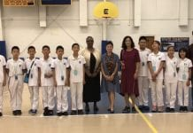 Students from New Epoch School in Beijing visit area, hosted by Carlisle School