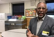 Former school board member raises concerns about needed updates to cafeteria, kitchen