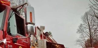 Fire crews respond to dual fires