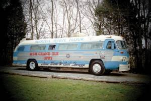 The Old Martha White Flatt & Scruggs Tour Bus (now the 'Rolling Bluegrass Museum').