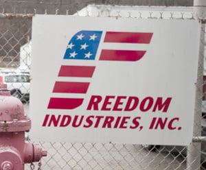 chemical spill freedom industries