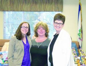 Stidom honored as pre-K teacher of the year