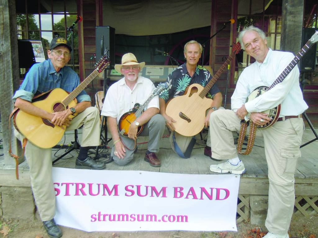 The Strum Sum Band to perform  in Alderson.