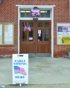 Early voting in Greenbrier County started strong on Wednesday, Oct. 22, with a turnout of 239 voters. Early voting continues through Nov. 1. Voters may report to the Greenbrier County Courthouse Monday through Friday from 8:30 a.m. to 4:30 p.m. and on Saturdays from 9 a.m. to 5 p.m. Beginning Monday, October 27, a satellite early voting facility will be opened in the Rupert Community Building. Early voting will continue in Rupert through Nov. 1. The hours are Monday through Friday from 8:30 a.m. to 4:30 p.m. and on Saturdays from 9 a.m. to 5 p.m. The General Election will be held Nov. 4.