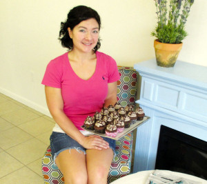 """By David Esteppe With 33 flavors of Hershey's ice cream, Tiffany Musak's Cakes and Cones is now open on South Court Street in Lewisburg. With a soft opening only three weeks ago, Musak says, """"My homemade cupcakes are usually sold out by 3 p.m."""" Favorite cupcake so far? The Peanut Butter-Cup is not only a customer favorite, but also one of Musak's. As far as favorite ice cream for cones, shakes or sundaes ...it's Pecan Pie. The young entrepreneur, and mother of five, offers up the ice cream, cupcakes and custom cakes. No fries yet, but she is serving up homemade soups and breads for a light lunch. Coffee and beverages are also on the scene. Part of the excitement of this new business is the offering of birthday party themes for parents to choose while planning their children's parties held in the beautifully decorated parlor and bakery. With details forthcoming, Cakes and Cones will have a grand opening celebration after Lewisburg's TOOT Festival."""