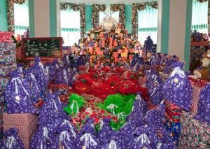 "Last year's ""Dream Tree for Kids"" at The Greenbrier"