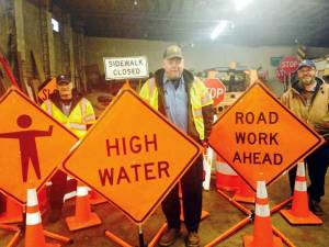 Town of Rainelle work zone