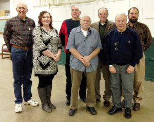 The Williamsburg Ruritan Club finished a very productive year of community work with their December meeting and Christmas party. 2015 officers were inducted and sworn in: Doyle Owens, secretary (left); Jonna Mullins, director; Junior Mullins, vice president; Herb Barthlow, director; Jack Goodman, president; Stan Zahorenko, director and Rick Hedrick, treasurer. Several new community projects are planned and the schedule of events will be announced at forthcoming meetings. The Williamsburg Ruritan Club welcomes suggestions and help from community residents. Telephone 304-645-0964.
