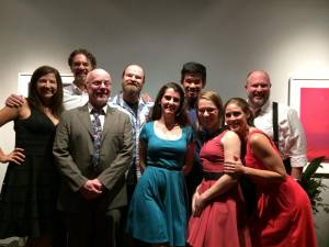 The cast of June Kermit's Kabaret  (Photo courtesy of Greenbrier Valley Theatre)