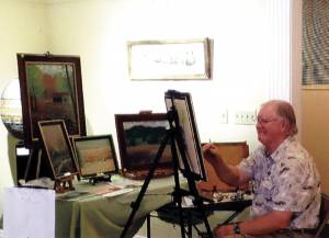Greenbrier Artist John Telisko invites the public to the Chocolate Festival Art Sale at GVT Apr. 10 and 11.