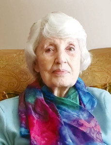 Mrs. Betty H. Gordon celebrated her 90th birthday on Sunday, Feb. 15, at her home in Lewisburg. In attendance were her four children, Peggy Mackenzie and Matthew Mackenzie, of Ronceverte, Anne Mackenzie, of Santa Rosa, CA, and Elise Leef, with husband, Eric, of Clintonville; and granddaughter, Jessamine Mackenzie, of Charlotte, NC. Mrs. Gordon has lived in Lewisburg for almost 14 years. Her previous home was in Sonoma, CA, where she resided with her husband, Alvin J. Gordon, now deceased.