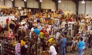 Annual Art and Craft Show at the fairgrounds in October draws huge crowds. This year promises to be bigger and better.