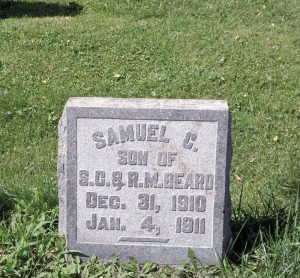 Friends of Lewisburg's Historic Cemeteries Samuel C. Beard after - Copy