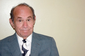 Stuart Margolin as the Prince of Comedy in Laughter on the 23rd Floor. (Photo courtesy of Greenbrier Valley Theatre)