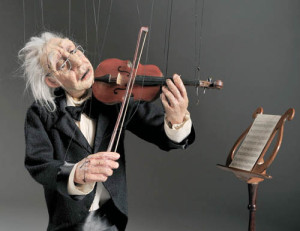 The Cashore Marionettes will perform at Carnegie Hall on Feb. 20