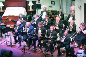 2015 West Virginia Jazz Orchestra Veteran's Day Concert (Photo courtesy Greenbrier Valley Theatre)