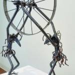 Mark Blumenstein's sculptures are on display at the Greenbrier Valley Visitors Center through the month of May.