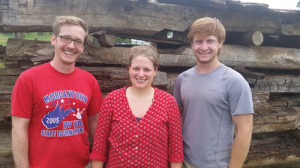 Kristen de Graauw, doctoral candidate WVU Geology Dept, and her crew completed dating on the logs of McCoy Fort and will present the findings and explain the scientific process at the June 18 Celebration at Williamsburg Museum.