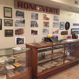 Inside the museum, visitors will find an array of Ronceverte artifacts.