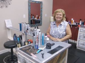 Tammy Rhodes, Gap Mills, graduated from New River CTC's cosmetology program in May. She now works at Strands Salon and Gifts, Ronceverte.