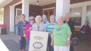 At 2016 WVCEOS Annual Leadership and Enrichment Conference: Judy Lohmeyer (left), Mary Mitchell, Deloris Lilly, Marge Witcher, Barbara Deeds, Sue Nickell and Blanche Knicely