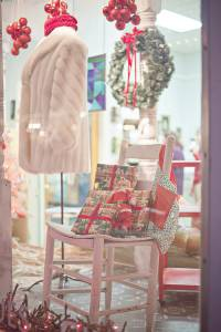 Shop windows will display their finery during the  Lewisburg Holiday Festival, Nov. 19 and 20.