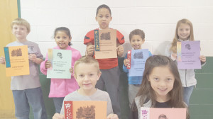 Front Row: Evan Clinebell (left) and Avery Thompson; Back Row: Collin Friend (left), Bella Douglas, Braylen Godfrey, Aspyn Jones and Noelle McClintic. (Not pictured: Amberlynn Quick)