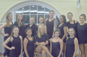 Student choreographers from the School of Theatre & Dance at West Virginia University